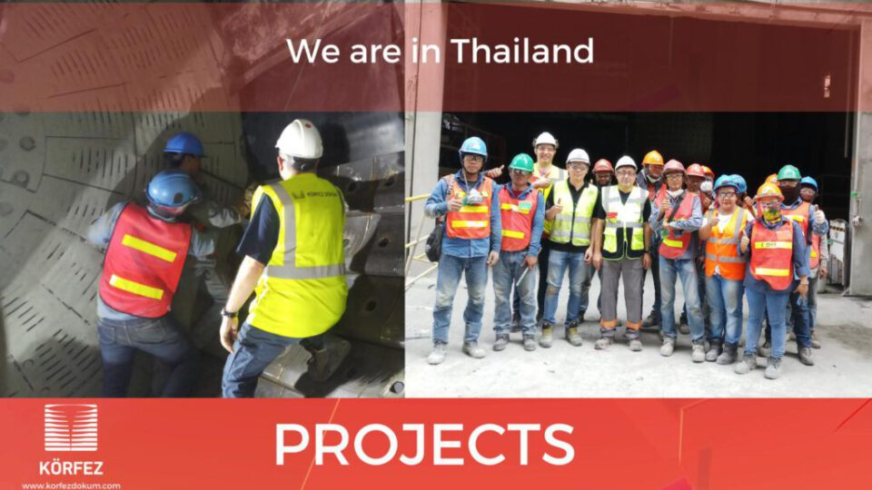 We are in Thailand